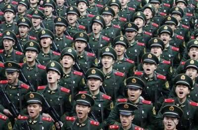 China's Military buildup rattles world