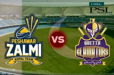 Peshawar Zalmi Vs Quetta Gladiators Live Update