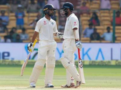 India v Australia 2nd Test scoreboard
