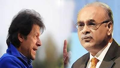 Najam Sethi throws a spanner at Imran Khan