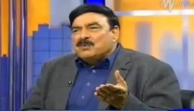 Sheikh Rasheed receives threat calls