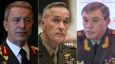 Turkey, Russia, US army chiefs hold talks in Turkey