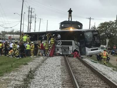 Deadly Train crash in USA
