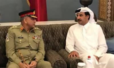 Pak-Qatar: COAS meets Qatri Emir, Strategic ties to be strengthened