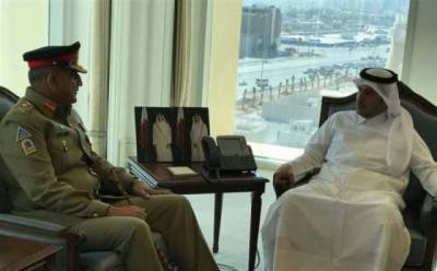 Pakistan-Qatar defence, cyber security ties to be enhanced: COAS-PM Qatar