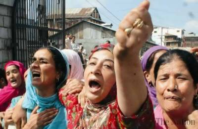 Why is World silent on Indian Army rapes in Kashmir on International Women Day