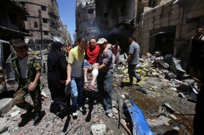 Bloodiest attack in Syrian Capital Damascus kill scores