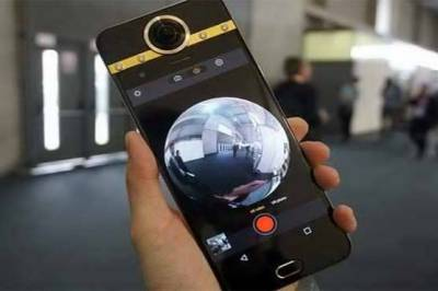 Darling smartphone with World's first 360 degree camera