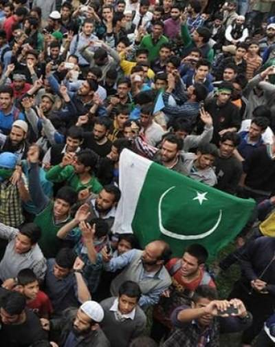 Indian Occupied Kashmir echoes with Pakistan slogans