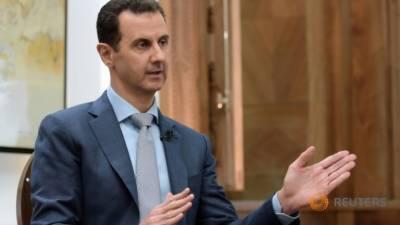 Syrian President Bashar Al Assad blasts Donald Trump