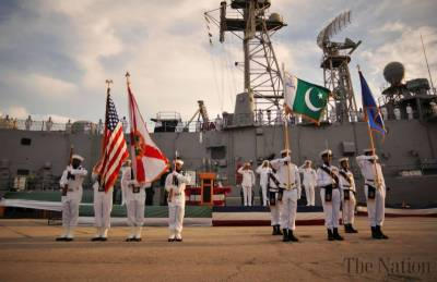 Pakistan Navy Chief meets US Naval Commander