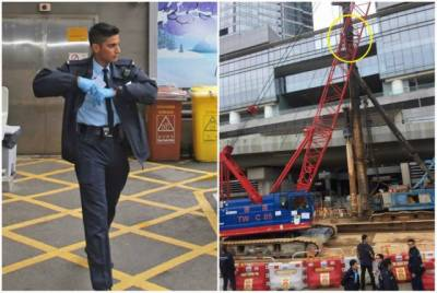 Pakistani cop in Hong Kong becomes a hero overnight