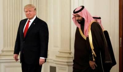 Saudi deputy crown prince meets Trump to roll back Iran