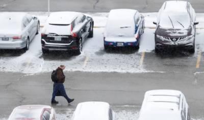 Snowstorm slams US Northeast
