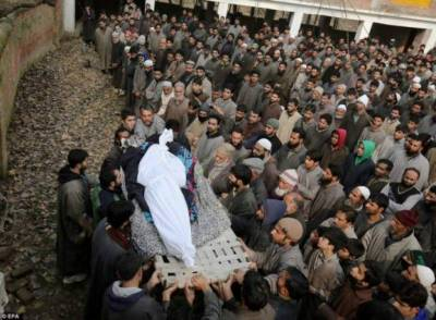 Three more Kashmiri youth martyred by Indian troops in a fresh act of State terrorism