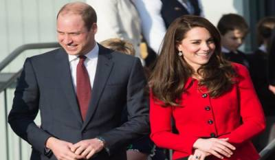 Britain Prince Williams and Princess Kate on official visit to Paris