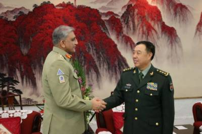 COAS holds important meetings with Chinese senior political, military leadership