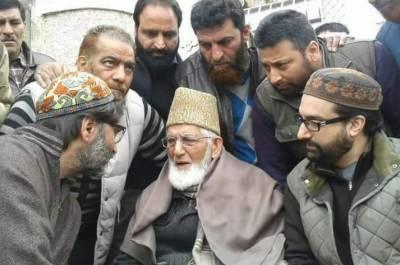 Indian Police arrest Syed Ali Geelani, Yasin Malik, Mirwaiz after trio stage protest
