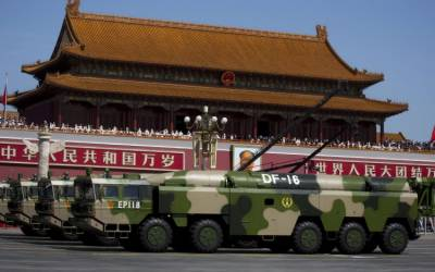 China aims advanced medium range ballistic missiles at Taiwan