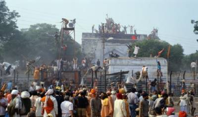 BJP to build Ram Temple in place of Babri Mosque