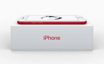 I-Phone 7 Special edition in red to be released