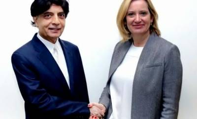 Pakistan-UK sign MoU in security and intelligence sharing
