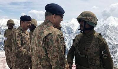 COAS General Qamar Bajwa's message to India from LOC
