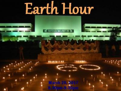 Earth Hour being observed across world including Pakistan
