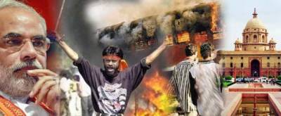 5,000 Hindus burn Muslim homes in Modi's home town Gujrat