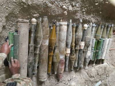 Pakistan Army seize huge cache of arms and ammunitions in IBO