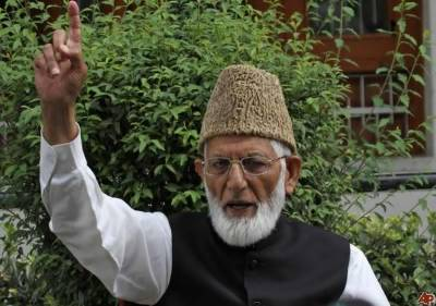 Taking part in state elections is betrayal with martyrs: Syed Ali Gillani