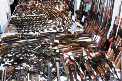 Lahore Police seize huge cache of arms