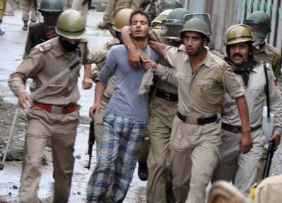 Indian army operations creating fear and panic in Kashmiris