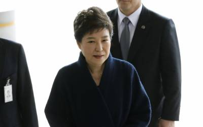 South Korean president to prisoner 503, Park in jail