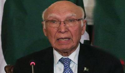 Afghan delegation discusses Pak-Afghan relations with Sartaj Aziz