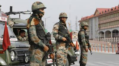 Grenade attack on Indian Forces convoy in Srinagar