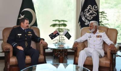 Royal Australian Air Force chief meets PAF, PN chiefs