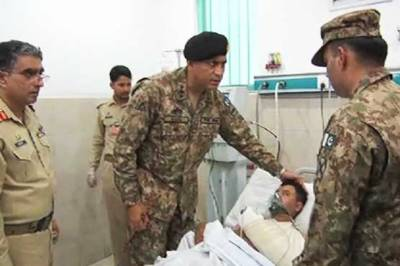 Corps Commander Lahore visits LGH