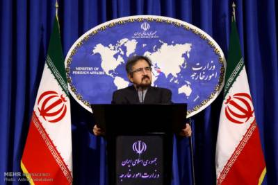 Iran expresses serious concerns over use of chemical weapons in Syria