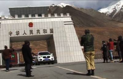 Pakistan-China border opens for trade