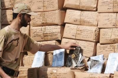 Pakistan Coast Guards seizes 99kg of hashish