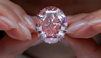 Pink Star: World's most expensive diamond sold