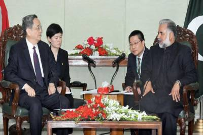 Sino-Pak ties trouncing to new heights under CPEC: Acting Speaker