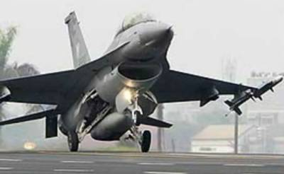 US Air Force F-16 fighter jet crashes