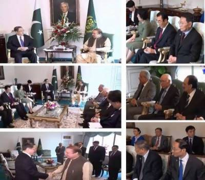 PM Nawaz lauds China's support to Pakistan in counter-terrorism