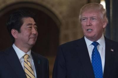 Trump tells Abe US to enhance defense capabilities against N Korea