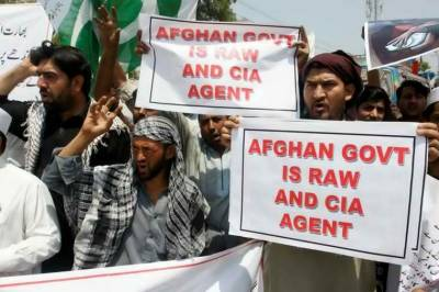 India is a hindrance in Pakistan-Afghanistan brotherly relations