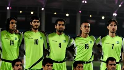 Pakistan Football Team touches lowest ever world ranking