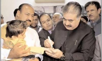 CM expresses resolve to make Baluchistan polio-free province
