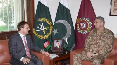 COAS-Afghan Ambassador holds security discussion